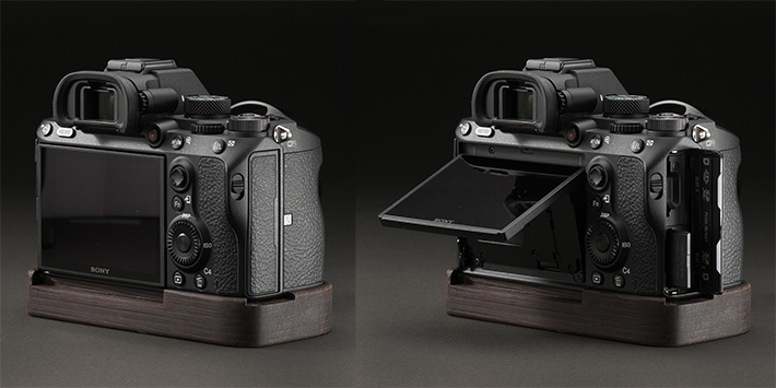 J.B. Camera Designs Sony α9/α7RIII /α7III専用カメラベース使用