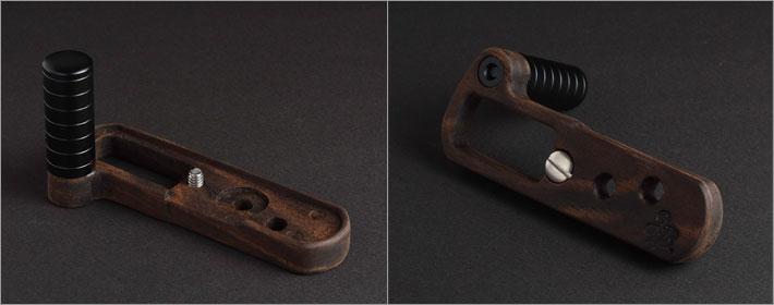 Leica D-Lux Typ109専用グリップ付きカメラベース単体写真