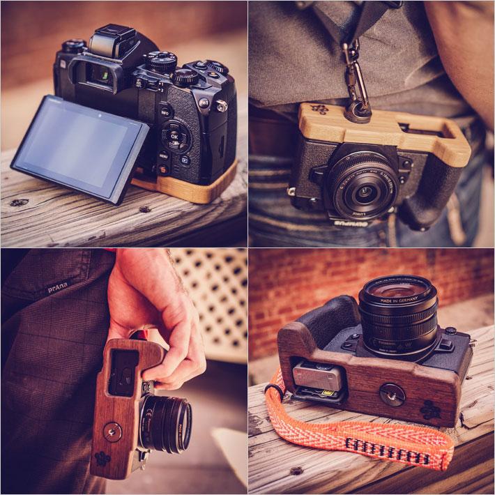 OLYMPUS E-M1専用カメラベース使用例