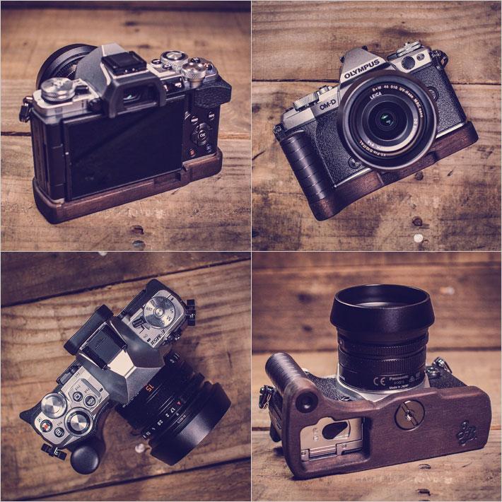 OLYMPUS E-M5 MarkII専用グリップ付きカメラベース使用例