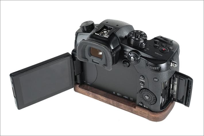 J.B. Camera Designs Lumix GH5専用カメラベース使用例
