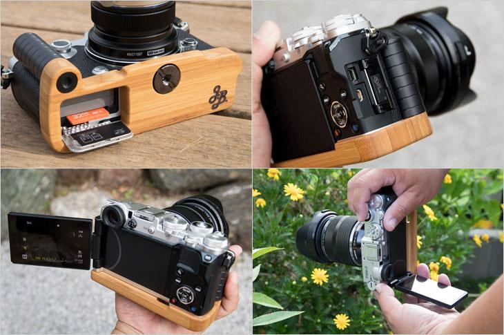 J.B. Camera Designs OLYMPUS PEN-F専用グリップ付きカメラベース