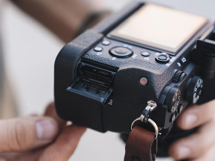 Sony A7II専用プログリップケー使用例