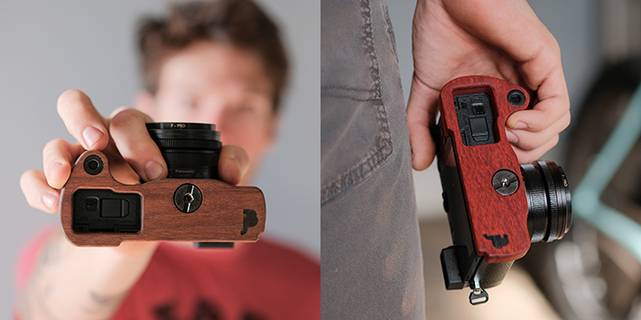 Panasonic GX7MarkIII専用グリップ付きカメラベース使用例