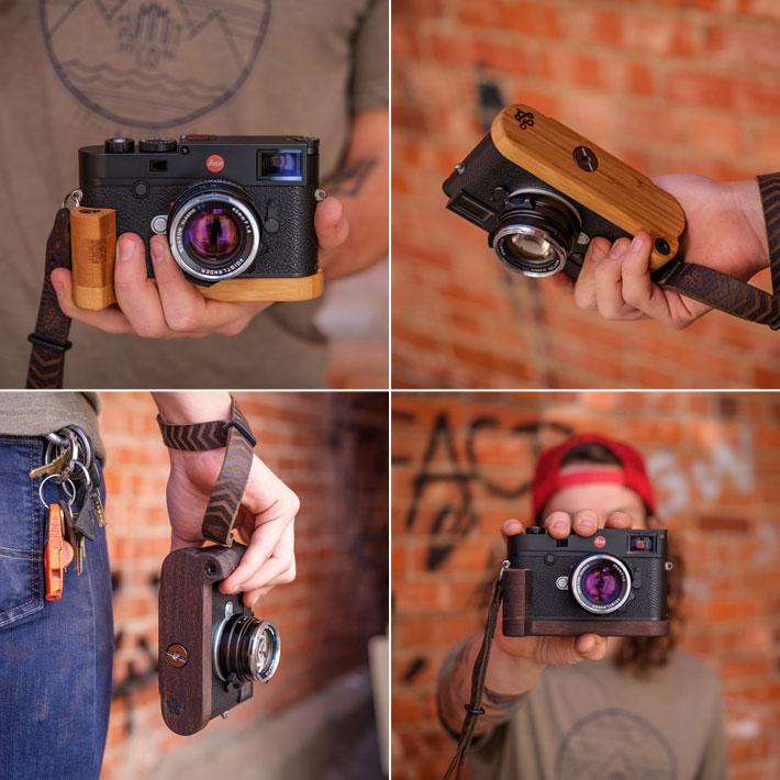 Leica M10専用グリップ付きカメラベース使用例