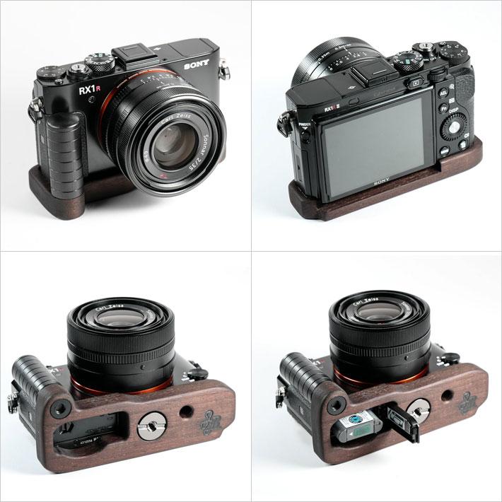SONY RX1RII専用グリップ付きカメラベース使用例