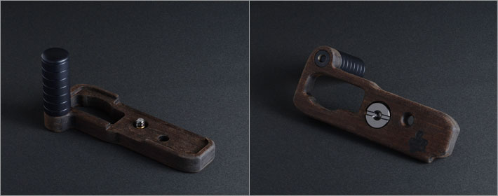 SONY RX1RII専用グリップ付きカメラベース単体写真