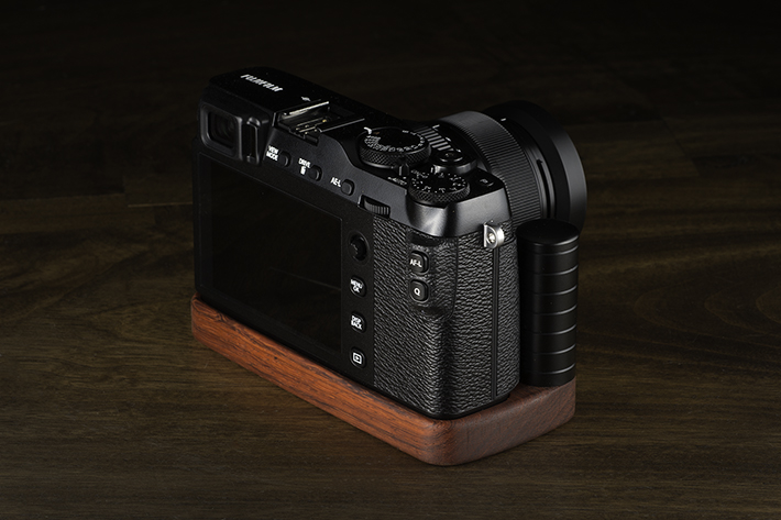 FUJIFILM X-E3専用グリップ付きカメラベース使用例