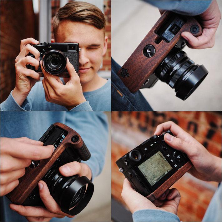 FUJIFILM X-Pro2専用グリップ付きカメラベース使用例