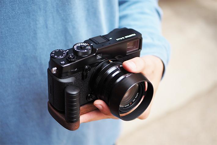 FUJIFILM X-Pro2専用グリップ付きカメラベース