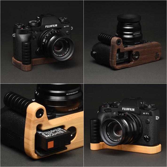 FUJIFILM X-T1専用グリップ付きカメラベース使用例