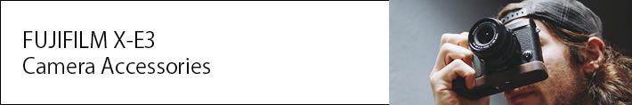FUJIFILM X-E3アクセサリー特集