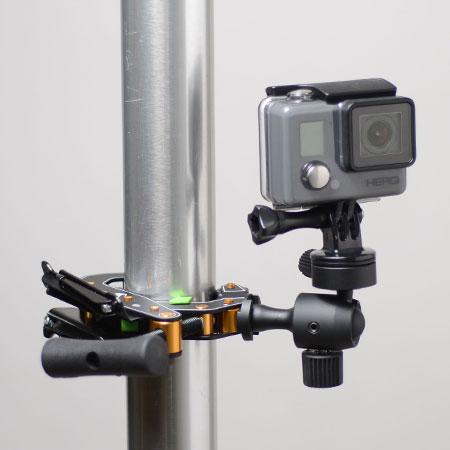 GoPro装着例