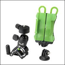 R2カメラクランプ スマホ&アクションカメラホルダーセット