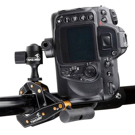T1クランプポッド・カメラ装着使用例