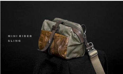 ミニライダースリングバッグ
