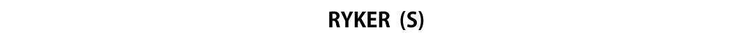ヴォータンクラフト|WOTANCRAFT/レイカー|RYKER
