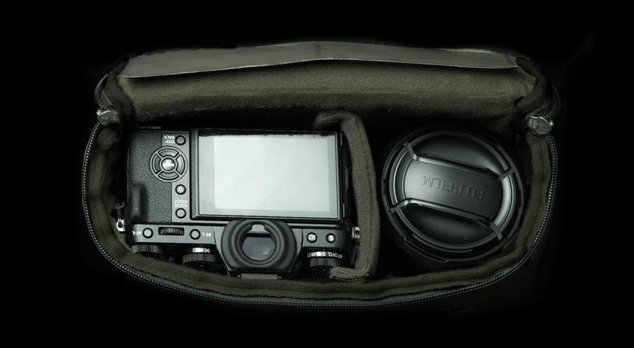 ウォータープルーフXSサイズ内部写真