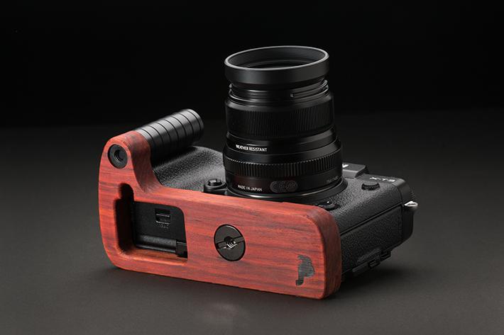 FUJIFILM X-T3専用グリップ付きカメラベース単体写真