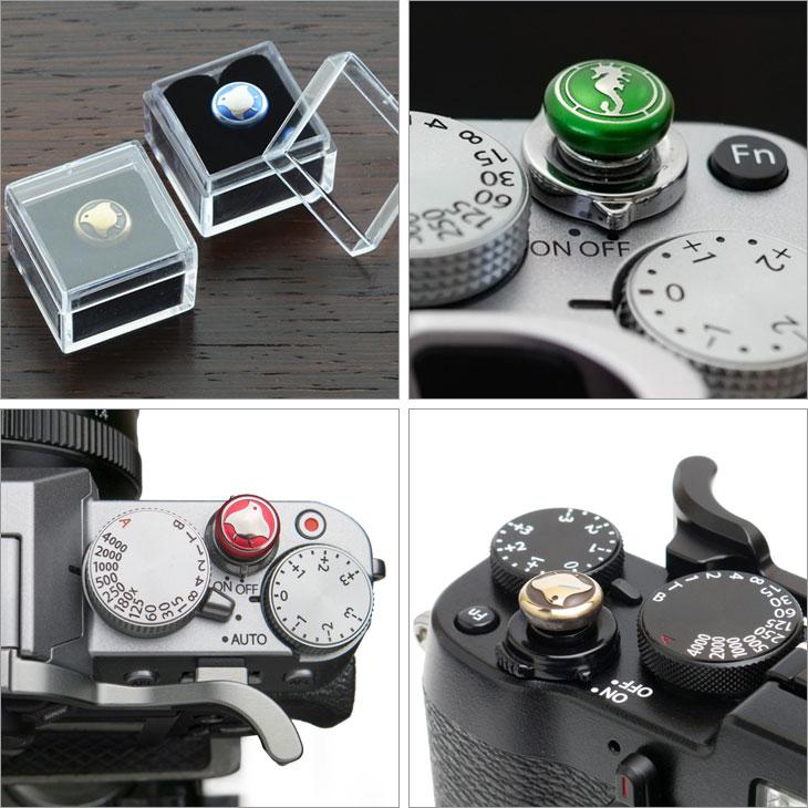 レンズメイト製ソフトレリーズボタン